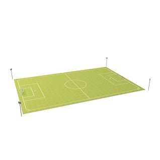 足球场3d模型