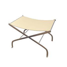 简约折叠凳3d模型