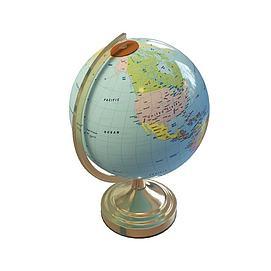 教学<font class='myIsRed'>地球</font>仪3d模型