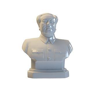 毛泽东雕像3d模型