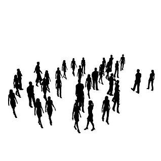 广场人群3d模型