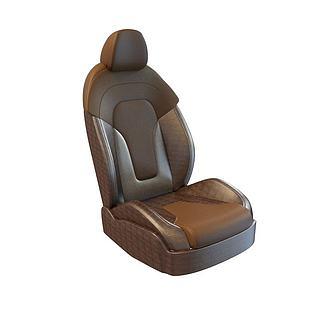 汽车座椅3d模型