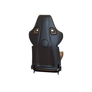 高档车座椅3d模型