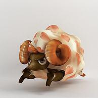 羊年装饰品3D模型3d模型