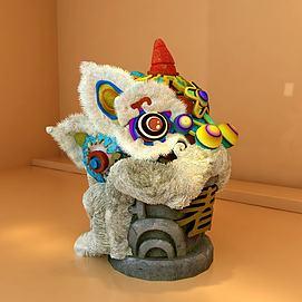 节日舞狮道具3d模型