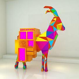 羊年道具3d模型