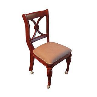 简约<font class='myIsRed'>餐椅</font>3d模型