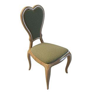 欧式椅子3d模型