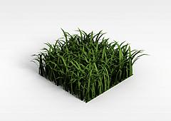 仿真草坪模型3d模型