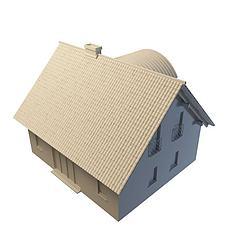 现代居民楼模型3d模型