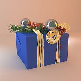 圣诞礼物3D模型