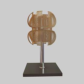 3d变形台灯模型