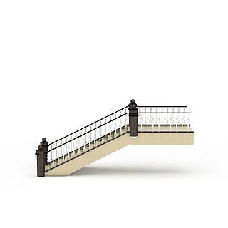 现代<font class='myIsRed'>楼梯</font>3d模型
