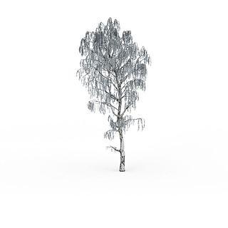 雪<font class='myIsRed'>树</font>3d模型