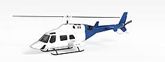 直升飞机模型3d模型