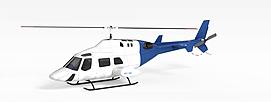 直升飞机3d模型