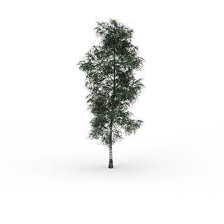 杨<font class='myIsRed'>树</font>3d模型