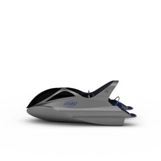 海豚游艇3d模型