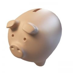 卡通存钱罐模型3d模型