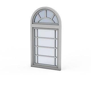 欧式窗户3d模型