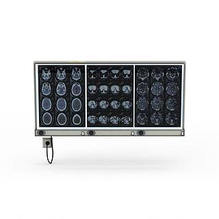 医用投影仪3d模型