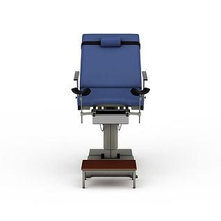 妇产科手术椅3d模型