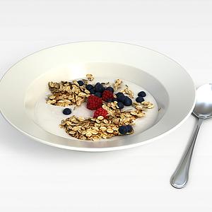 3d进口食品模型
