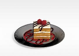 奶油<font class='myIsRed'>蛋糕</font>3d模型