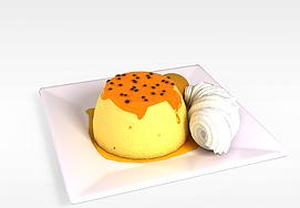 水果<font class='myIsRed'>蛋糕</font>3d模型