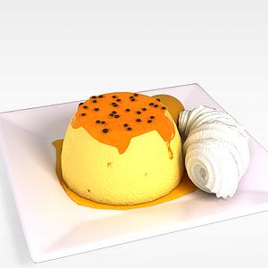 3d水果<font class='myIsRed'>蛋糕</font>模型