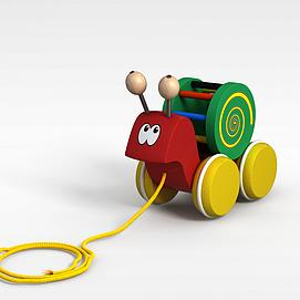 3d蜗牛<font class='myIsRed'>玩具车</font>模型