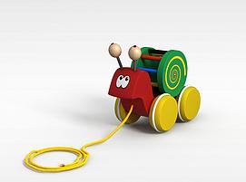 蜗牛<font class='myIsRed'>玩具车</font>3d模型