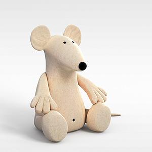 玩具老鼠模型3d模型