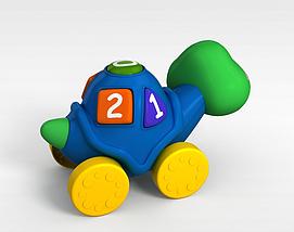 乌龟<font class='myIsRed'>玩具车</font>3d模型