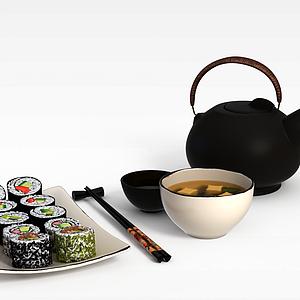 3d寿司模型