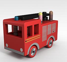 玩具小车3d模型