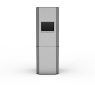 家用电冰箱3d模型