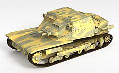 坦克车模型3d模型