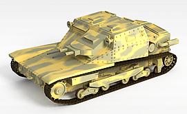 3d<font class='myIsRed'>坦克</font>车模型