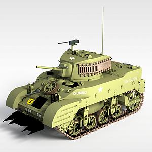 軍事坦克模型