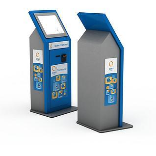 自动服务系统3d模型