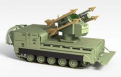军事坦克车模型3d模型