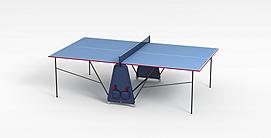 简约<font class='myIsRed'>乒乓球桌</font>3d模型