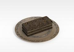 巧克力甜点模型3d模型