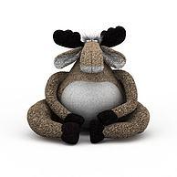 毛绒玩具3D模型3d模型