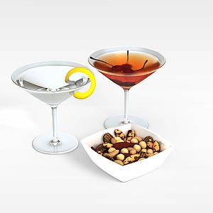 3d柚子饮料模型