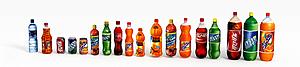 3d橙汁飲料模型