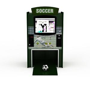 3d足球机模型