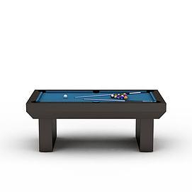 室外台球桌3d模型