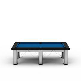 室内台球桌3d模型
